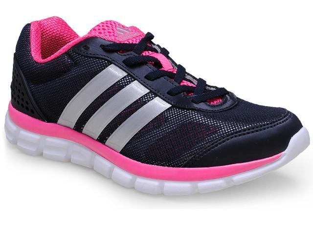Tênis Feminino Adidas M18416 Breeze 202 2  Preto/pink