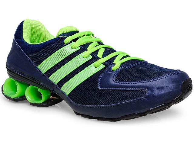 Tênis Masculino Adidas M25669 Komet Marinho/verde Limão