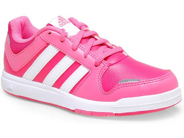 Tênis Fem Infantil Adidas M20066 lk Trainer 6 Kids  Rosa