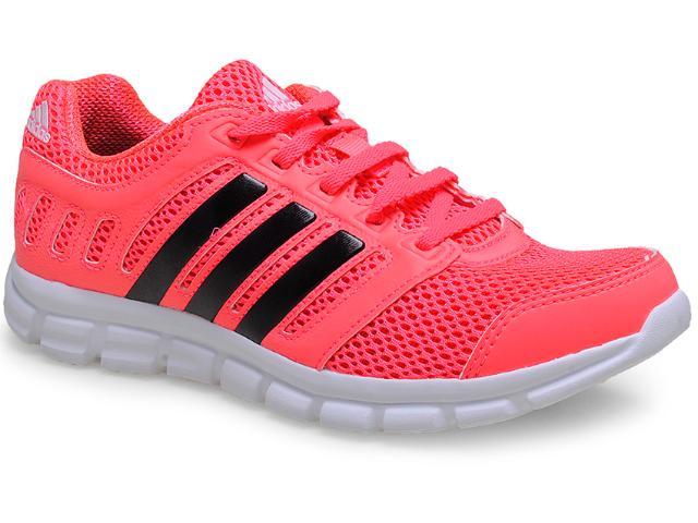Tênis Feminino Adidas B44040 Breeze 101 2 w  Rosa Neon
