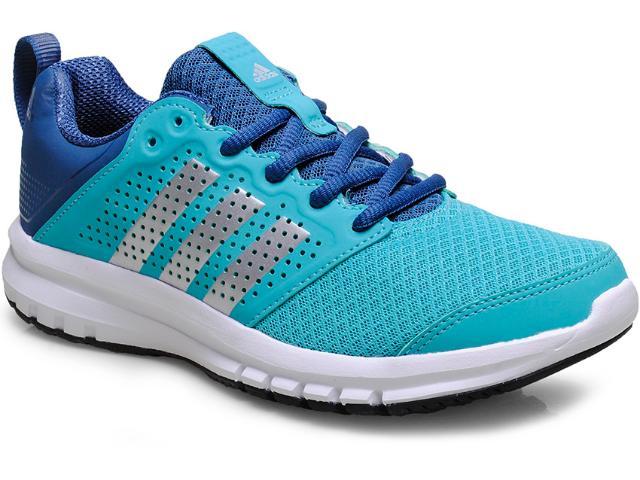 Tênis Feminino Adidas B40261 Madoru w Verde Agua/azul