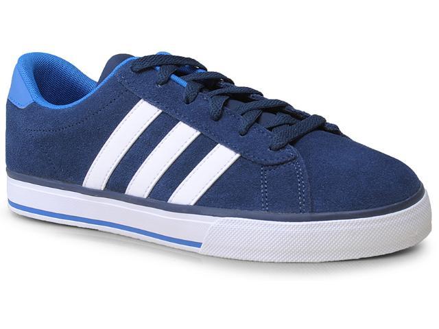 Tênis Masculino Adidas F97751 Daily Marinho/branco