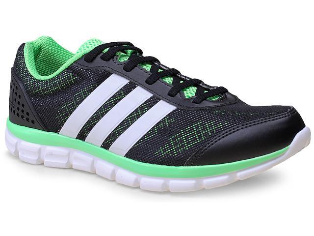 Tênis Masculino Adidas B40300 Breeze 202 2 m  Preto/limão/branco