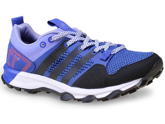 Tênis Feminino Adidas B40588 Kanadia 7 tr  w   Roxo/preto