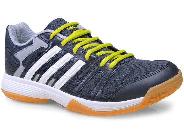 Tênis Masculino Adidas B44482 Volley Ligra Grafite/branco/limão