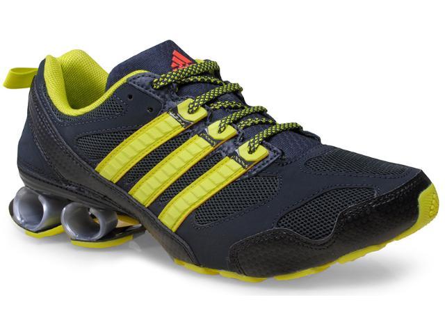 Tênis Masculino Adidas B34282 New Cosmos m Preto/amarelo Limão