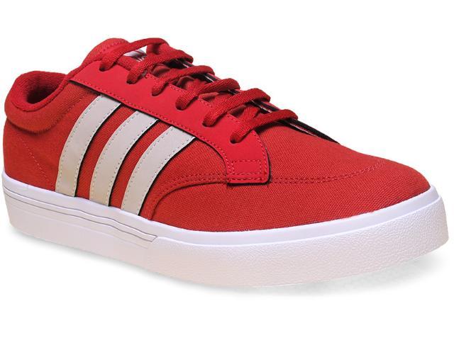 Tênis Masculino Adidas H68224 Gvp Culture Vermelho/branco