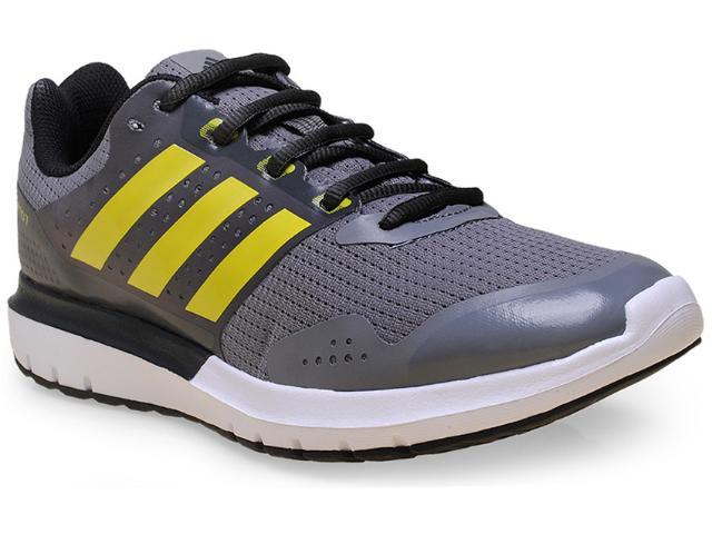 Tênis Masculino Adidas S83234 Duramo 7 m Cinza/branco/limão