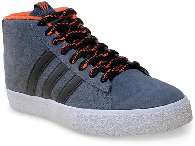 Tênis Masculino Adidas F98317 Daily st Mid Chumbo/laranja