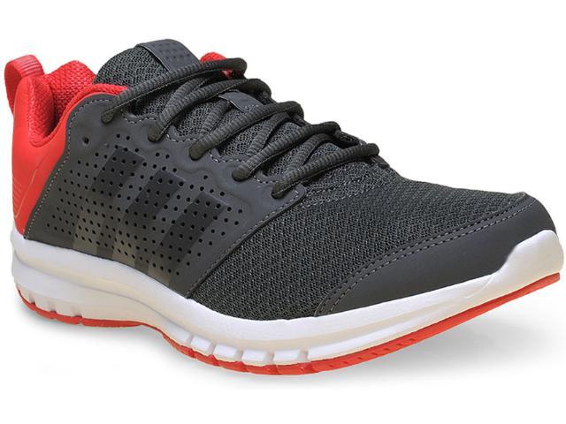 Tênis Masculino Adidas S77493 Madoru m Chumbo/vermelho