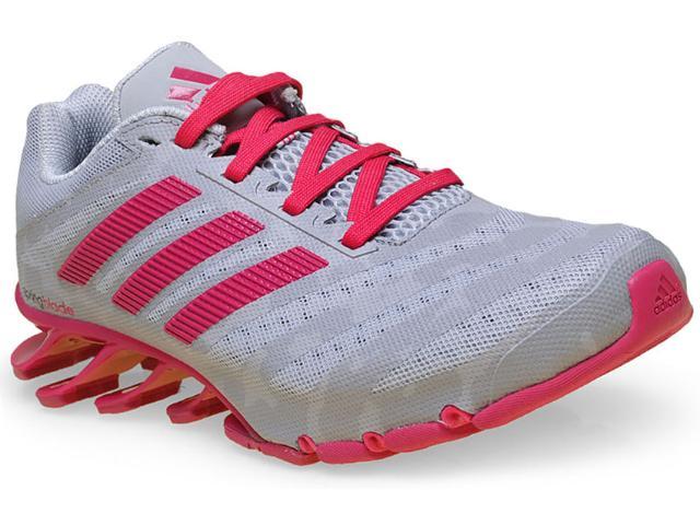 Tênis Feminino Adidas D69804 Springblade Cinza/pink
