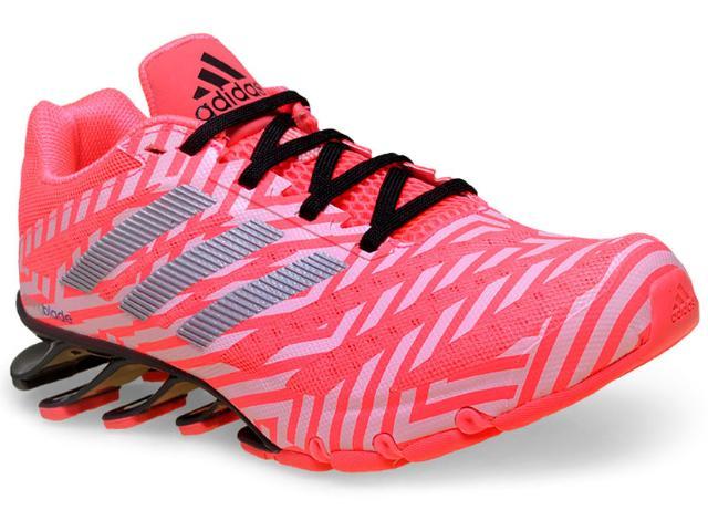 Tênis Feminino Adidas D69694 Springblade Ignite w  Rosa Neon