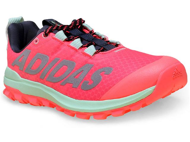 b101dddd643 Tênis Feminino Adidas S85035 Vigor 6 tr w Coral verde Claro