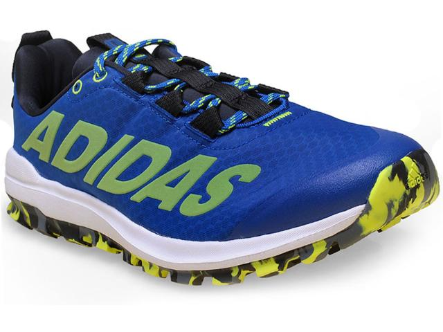 Tênis Masculino Adidas D69459 Vigor 6 tr m Azul/branco/verde