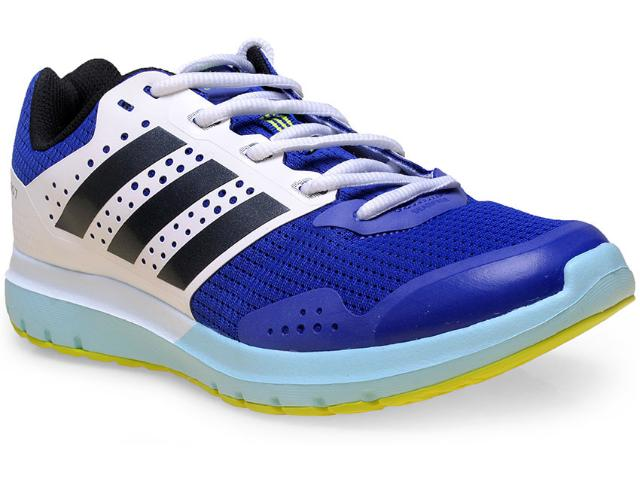 Tênis Feminino Adidas S83236 Duramo 7 w Azul/branco/celeste