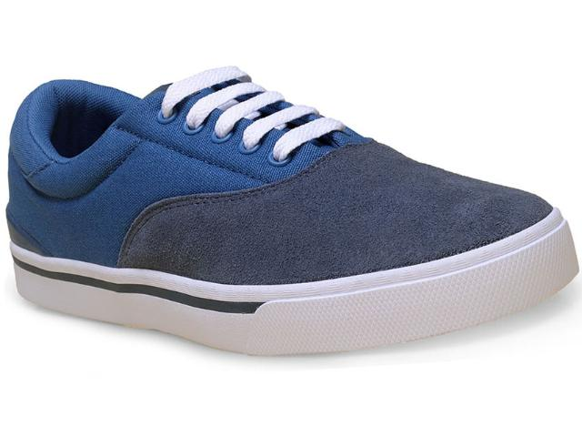 Tênis Masculino Adidas F98374 Park st Classic  Cinza/azul