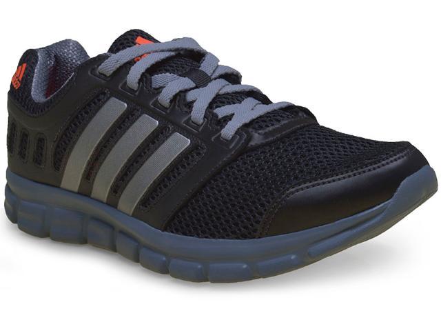 Tênis Masculino Adidas M17340 Breeze 1012 m Preto/chumbo