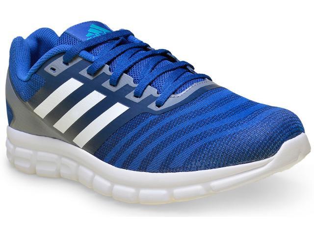 Tênis Masculino Adidas H68259 Element Flash Azul/cinza/branco