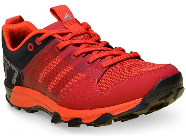 Tênis Masculino Adidas Aq5043 Kanadia 7 Vermelho/preto