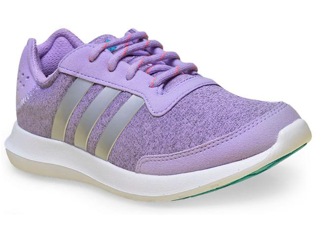 Tênis Feminino Adidas Aq4957 Element Refresh w Lilas