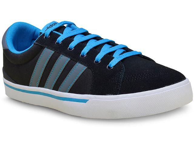 Tênis Masculino Adidas F99250 Park st Preto/azul