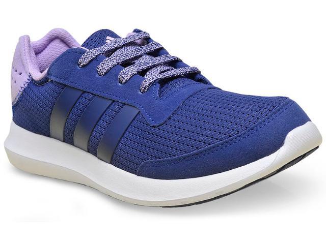Tênis Feminino Adidas Af6476 Element Refresh w Marinho/lilas