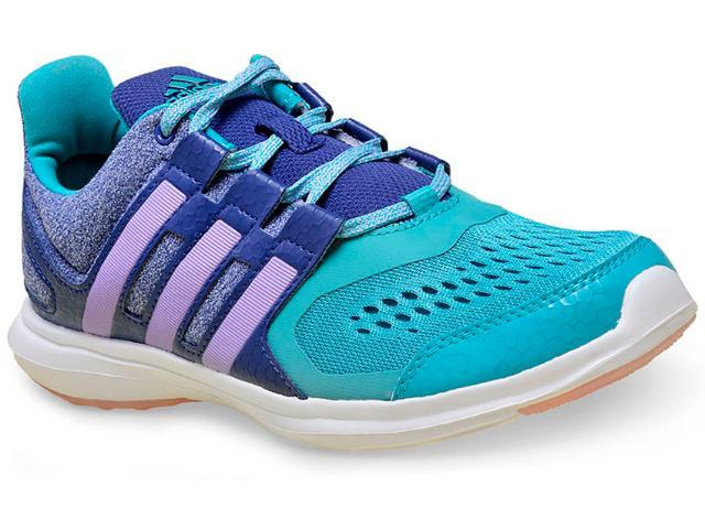 Tênis Feminino Adidas Af4512 Hyperfast 2.0 k Verde/lilas