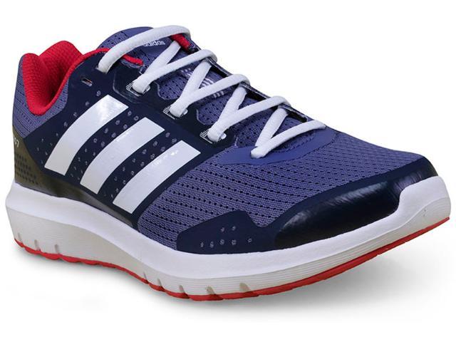 Tênis Feminino Adidas Ba8068  Duramo 7 w Azul/cereja