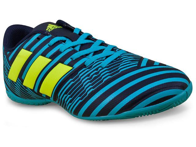 Tênis Masculino Adidas S82472 Nemeziz 17.4  Marinho/azul
