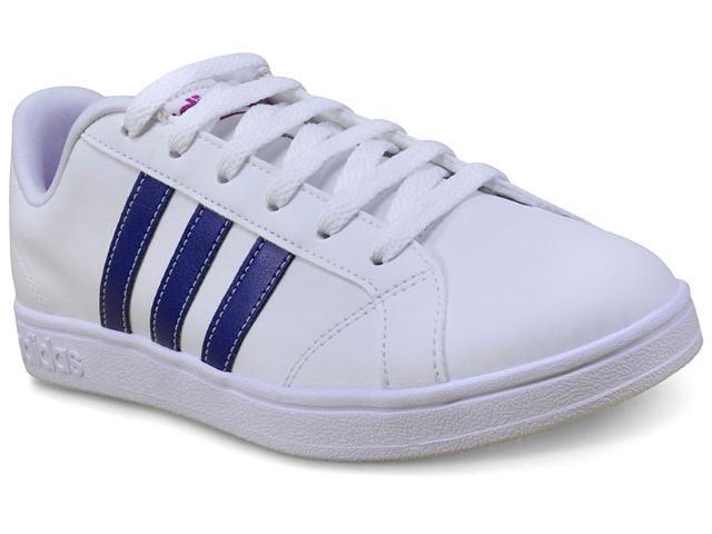Tênis Feminino Adidas Bb9620 Advantage w Branco/azul