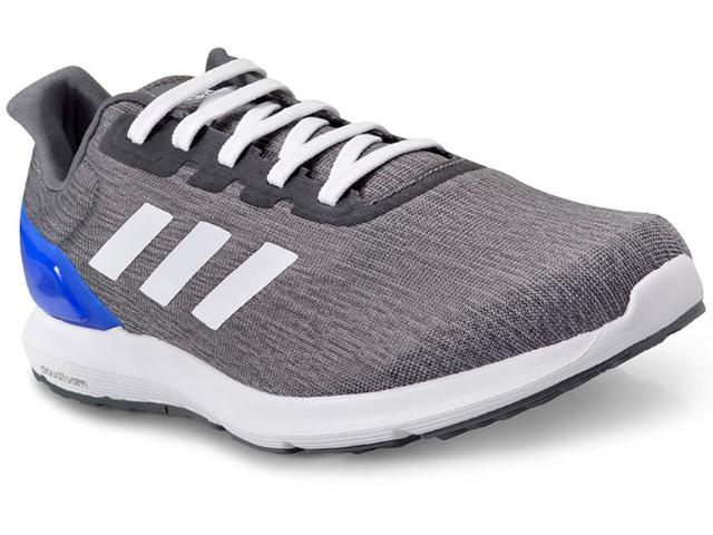 Tênis Masculino Adidas Bb3585 Cosmic 2 m Cinza Escuro/branco/azul
