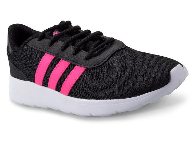 Tênis Feminino Adidas Bb9835 Lite Racer w Preto/pink