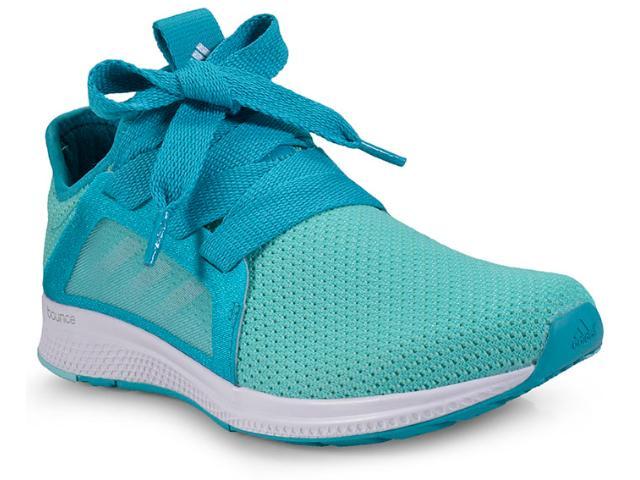 Tênis Feminino Adidas By3546 Edge Lux w Verde Agua/azul