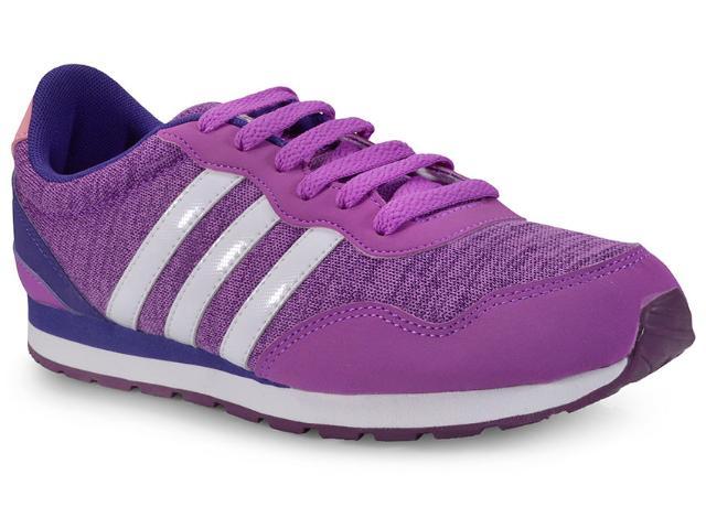 Tênis Feminino Adidas Bc0079 v Jog k Roxo