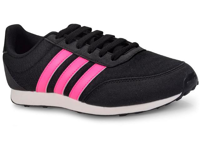 Tênis Feminino Adidas Bc0112 v Racer 2 w Preto/pink