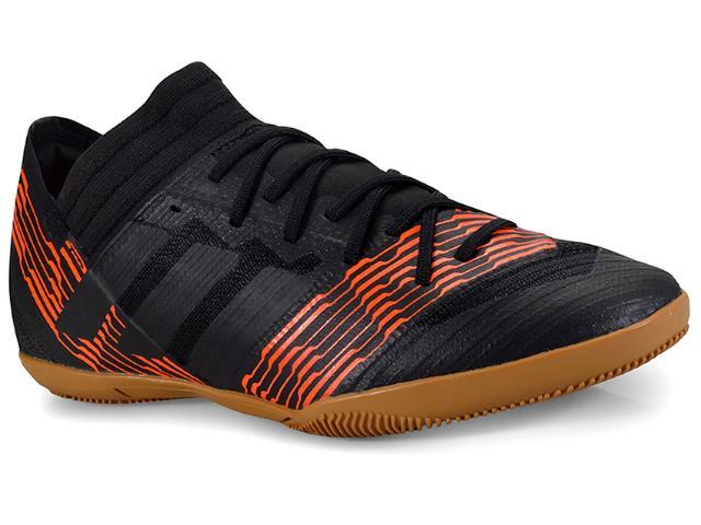 Tênis Masculino Adidas Cp9111 Nemeziz Tango17.3 Preto/laranja