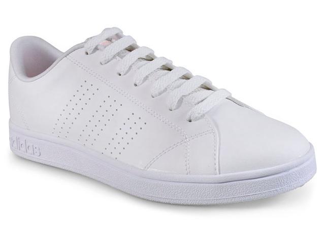 Tênis Feminino Adidas Db0581 Advantage e Clean w  Branco