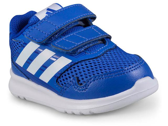 Tênis Masc Infantil Adidas Cq0028 Altarun cf Azul/branco