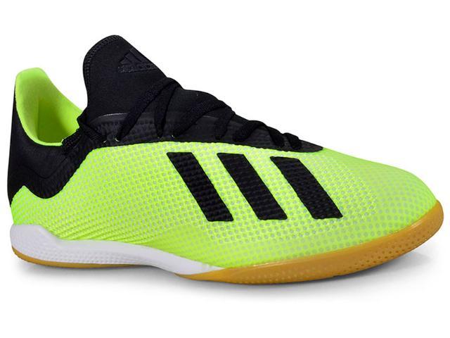 Tênis Masculino Adidas Db2441 Tango 18.3 in Limão/preto