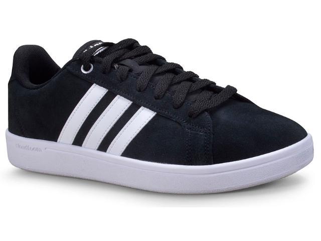 Tênis Masculino Adidas Ck8649 cf Advantage Preto/branco
