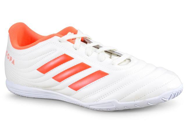 Tênis Masculino Adidas D98073 Copa 19.4 in Off White/laranja