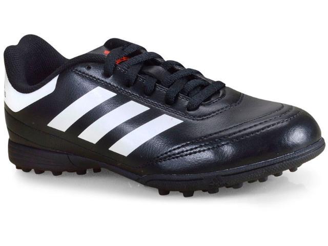 Tênis Masc Infantil Adidas Aq4304 Goletto vi tf Junior Preto/branco