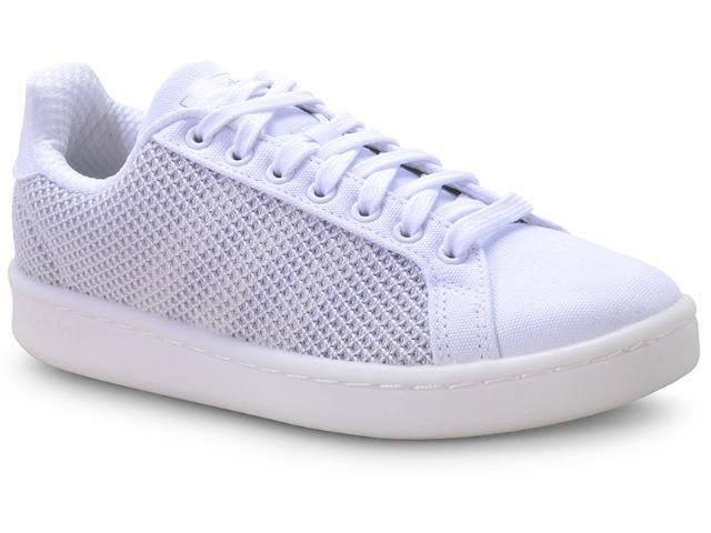 Tênis Feminino Adidas F36991 Grand Court Branco/cinza