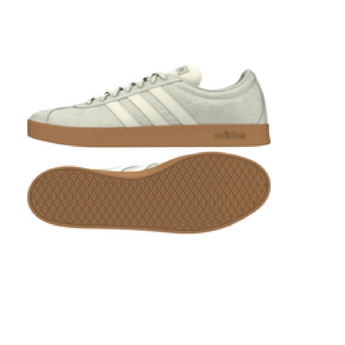 Tênis Masculino Adidas Ee6893 vl Court 20 m Cinza/branco