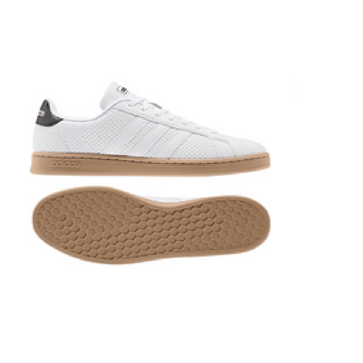 Tênis Masculino Adidas Ee7886 Grand Court Branco