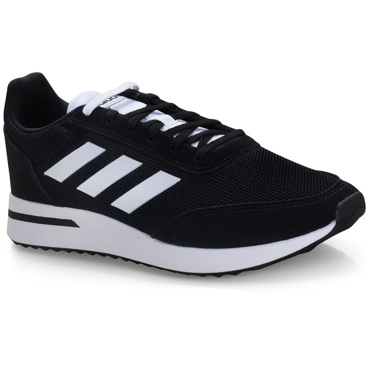 Tênis Masculino Adidas Ee9752 Run70s Preto/branco