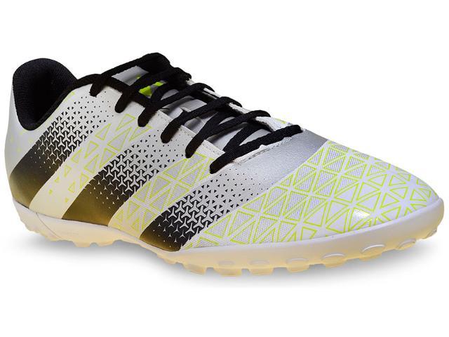 Tênis Masculino Adidas H68342 Artilheira tf Prata/preto/limão