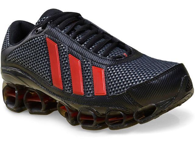 Tênis Masculino Adidas U44134 Preto/vermelho