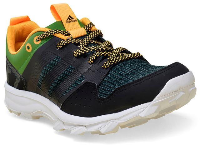 Tênis Masculino Adidas Aq5041 Kanadia 7 tr Preto/verde