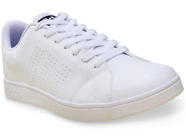 Tênis Masculino Adidas F99252 Advantage Clean vs Branco